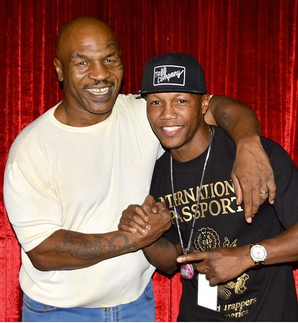 Five-Time World Boxing Champ Zab Judah and hip-hop legend Eric B attend