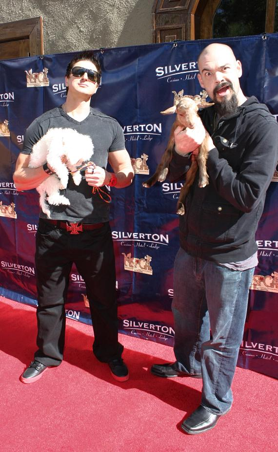 Zak Bagans and Aaron Goodwin from Ghost Adventures