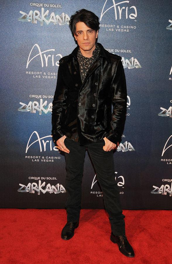 Criss Angel at Las Vegas Premier of Zarkana by Cirque du Soleil