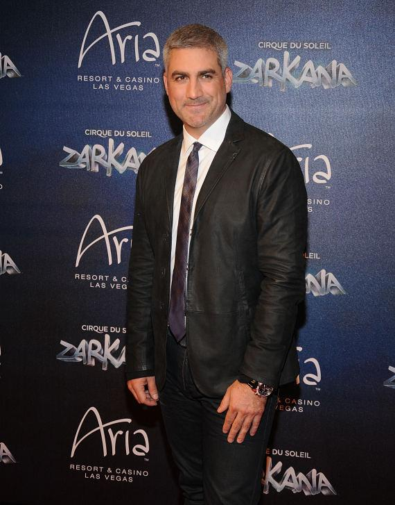 Taylor Hicks at Las Vegas Premier of Zarkana by Cirque du Soleil
