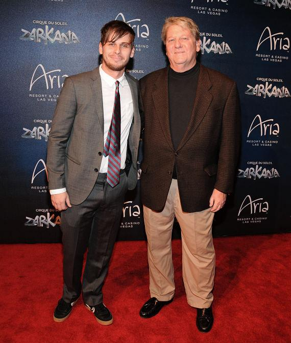 Mark Foster at Las Vegas Premier of Zarkana by Cirque du Soleil