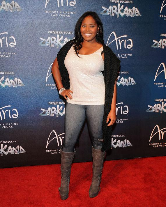 Shar Jackson at Las Vegas Premier of Zarkana by Cirque du Soleil