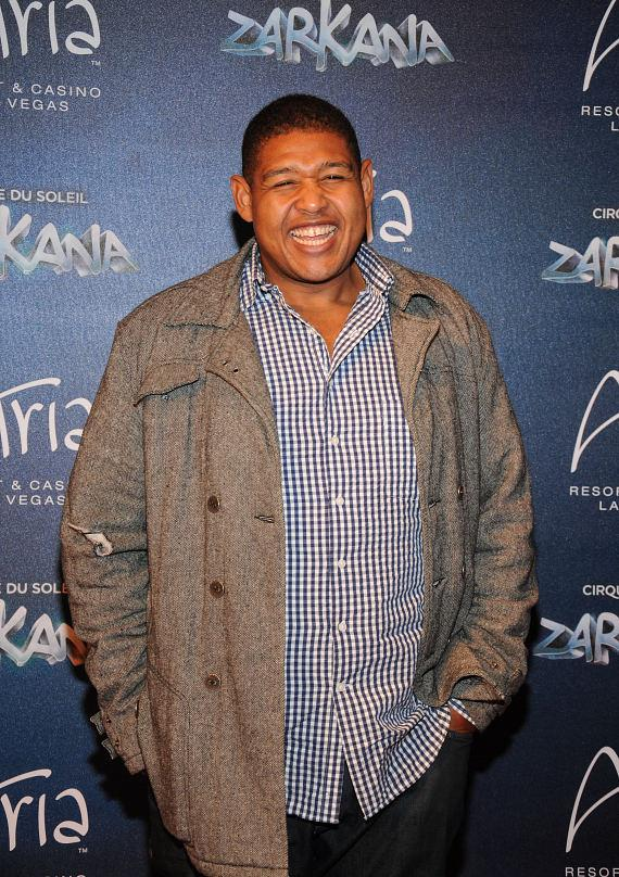 Omar Miller at Las Vegas Premier of Zarkana by Cirque du Soleil