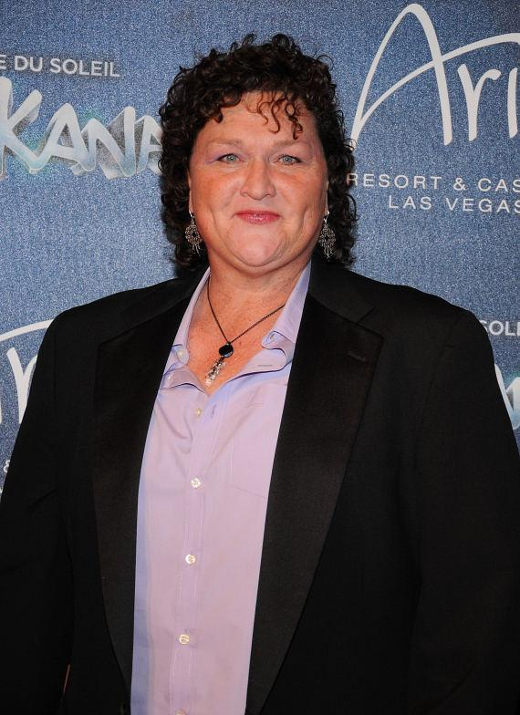 Dot Jones at Las Vegas Premier of Zarkana by Cirque du Soleil