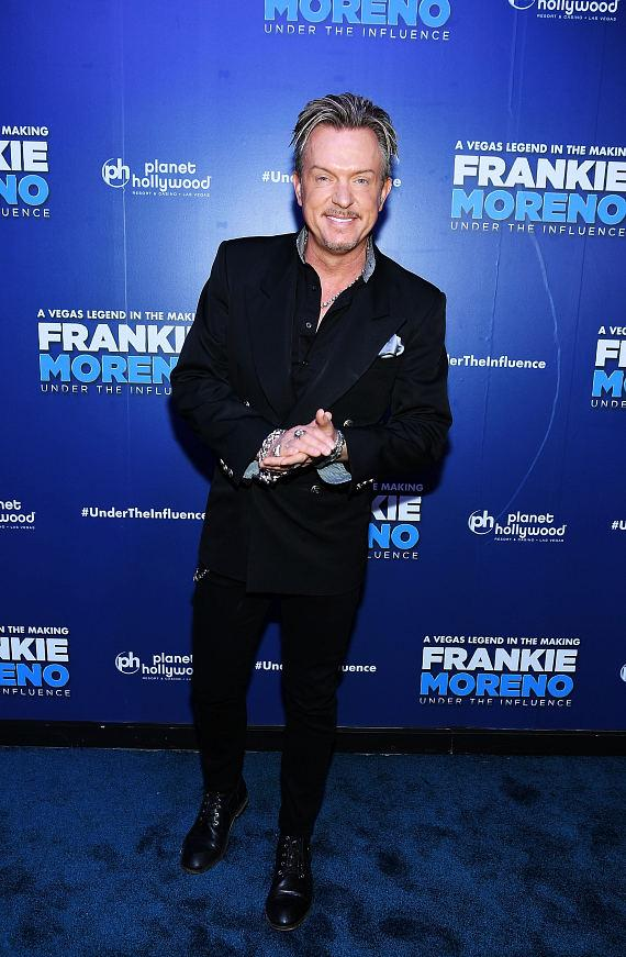 Zowie Bowie's Chris Phillips at Opening Night of FRANKIE MORENO - UNDER THE INFLUENCE at Planet Hollywood Resort & Casino