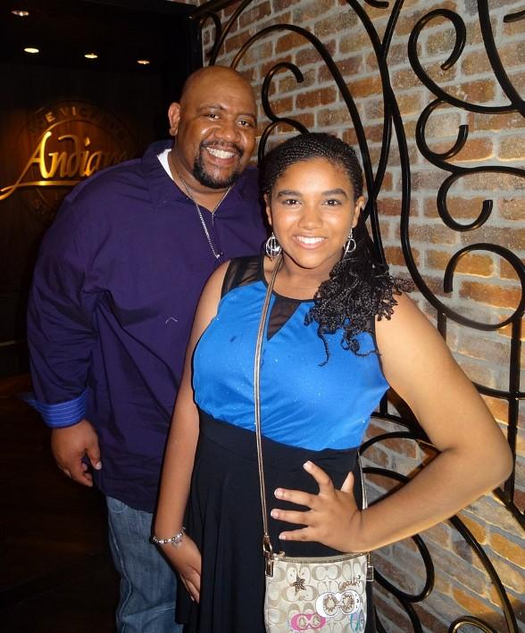 Nickelodeon Actor Bubba Ganter Celebrates Daughter Scierra's Birthday at the D Casino Hotel Las Vegas