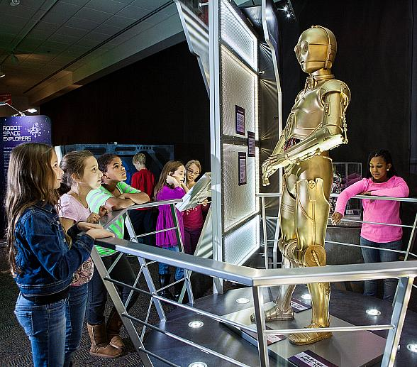 New Exhibit, Alien Worlds and Androids, Brings Interactive Space-Like Experiences To Life At DISCOVERY Children's Museum