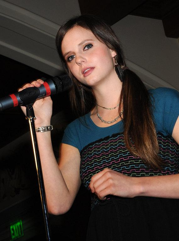 YouTube sensation Tiffany Alvord performs at Turnberry Place in Las Vegas
