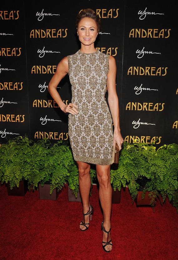 Stacy Keibler at Andrea's grand opening in Las Vegas