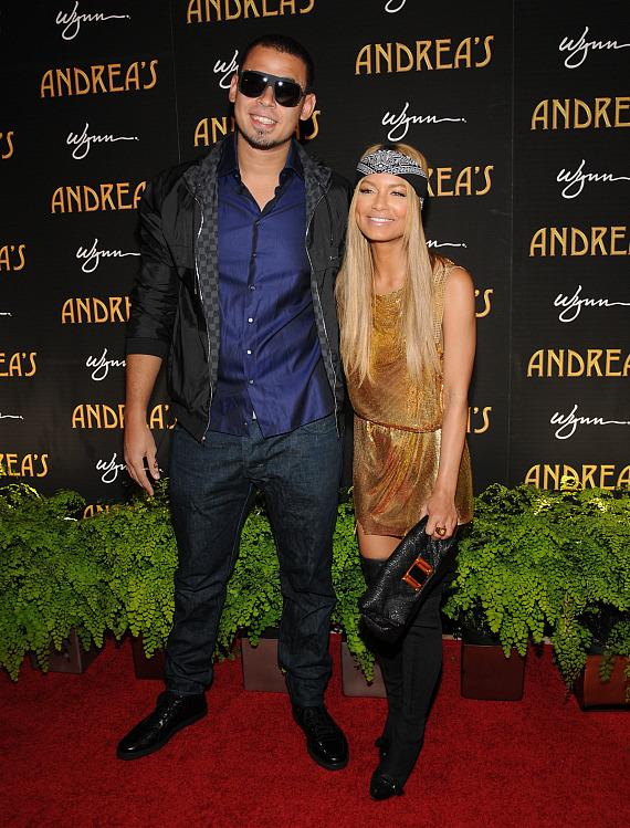 Afrojack and Havana Brown at Andrea's grand opening in Las Vegas