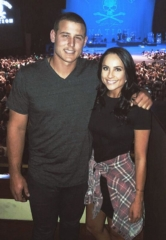 Chicago Cubs' Anthony Rizzo Attends Kenny Chesney at The Joint at Hard Rock Hotel & Casino