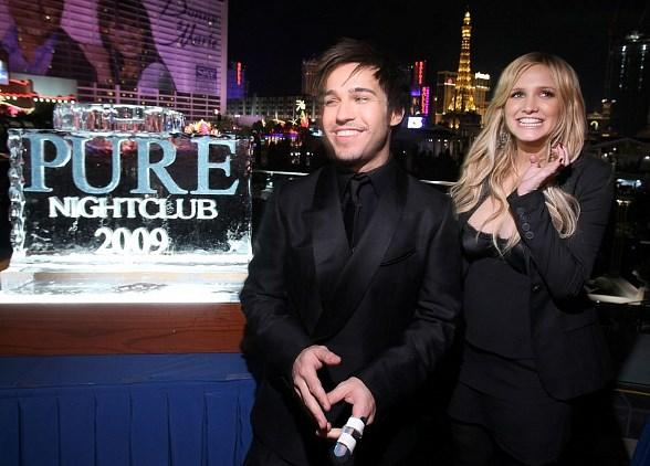 Ashlee Simpson-Wentz and Pete Wentz Host NYE Party at PURE