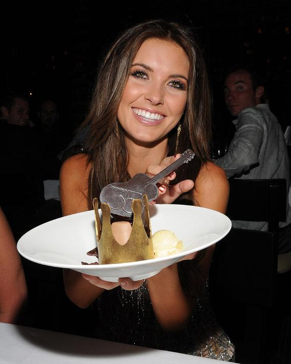 Audrina Patridge at 35 Steaks + Martinis