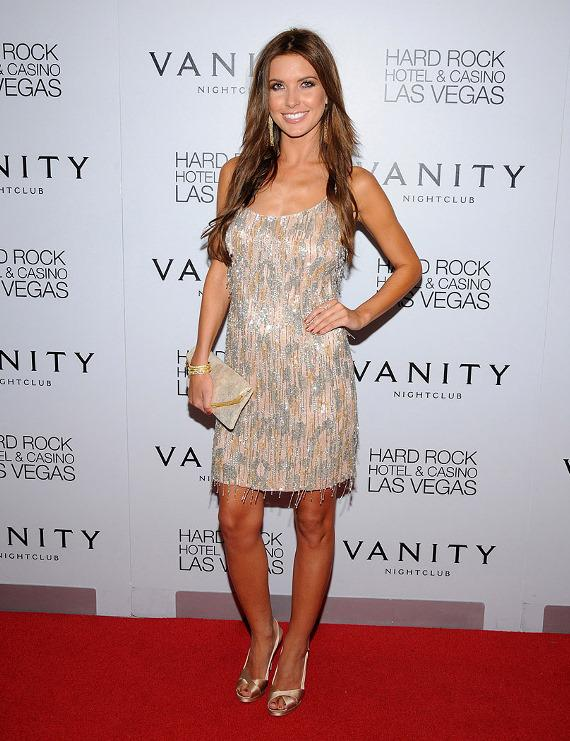 Audrina Patridge on Vanity red carpet