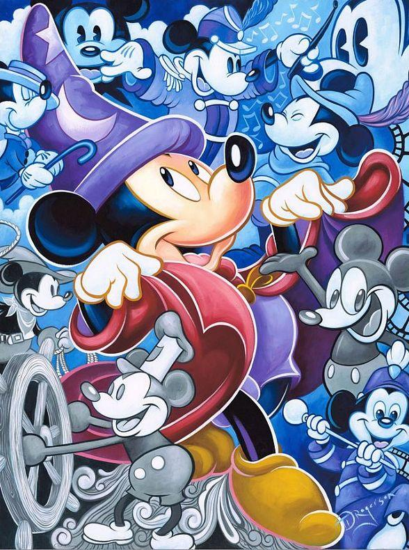 """""""Magical Memories featuring Disney Fine Art"""" Animates The Forum Shops at Caesars Palace in Las Vegas with the Artistic Heritage of Disney"""
