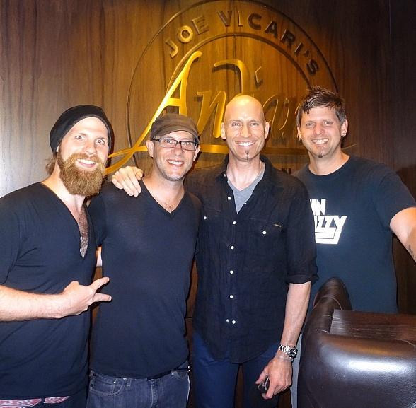 Vertical Horizon Feasts on Delicious Meal at Andiamo Italian Steakhouse inside the D Casino Hotel