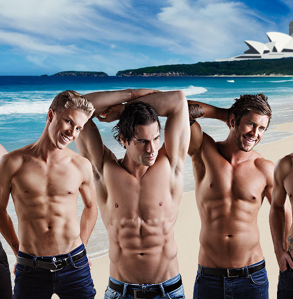 "Renowned Australian-Based Male Strip Show ""Aussie Hunks"" to Open at the D Las Vegas July 31"