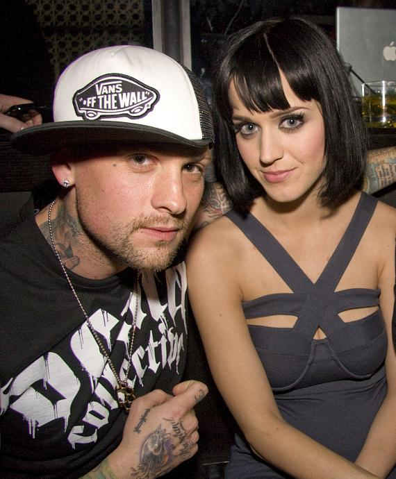 Benji Madden and Katy Perry at LAVO (Photo Credit: Aaron Thompson)