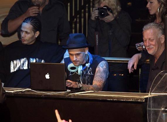 Benji Madden at Body English (Photo credit: Hard Rock Hotel)