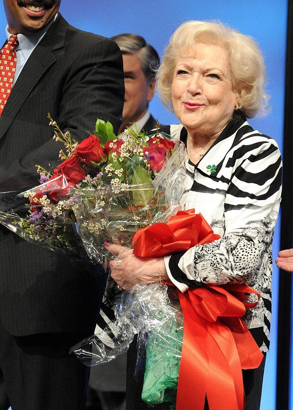 Actress Betty White Inducted into NAB Broadcasting Hall of Fame
