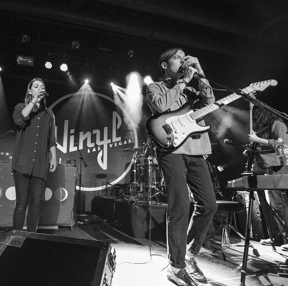 Bombay Bicycle Club performs at Vinyl in Hard Rock Hotel Las Vegas