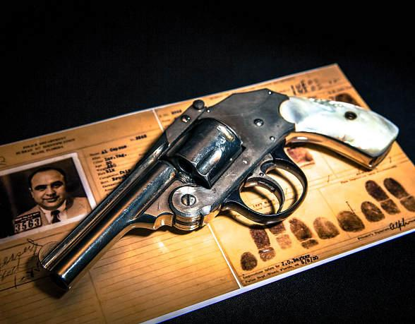 The Mob Museum Unveils Gun Belonging to Al Capone