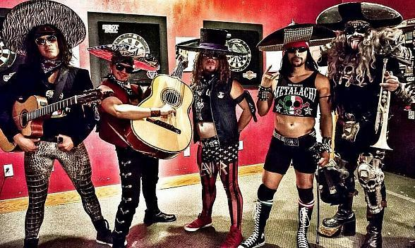 Celebrate Cinco de Mayo at The Bunkhouse Saloon's Fiesta and Performance by Metalachi!