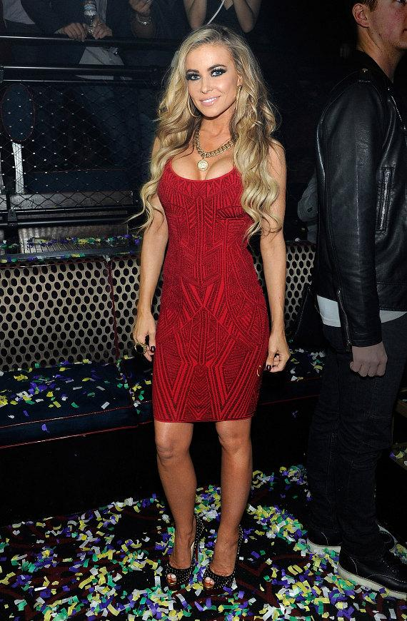 Carmen Electra at LIGHT Nightclub at Mandalay Bay Hotel & Casino in Las Vegas