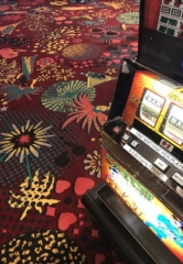 The Plaza Hotel & Casino Installs A One-Of-A-Kind Las Vegas Casino Carpet