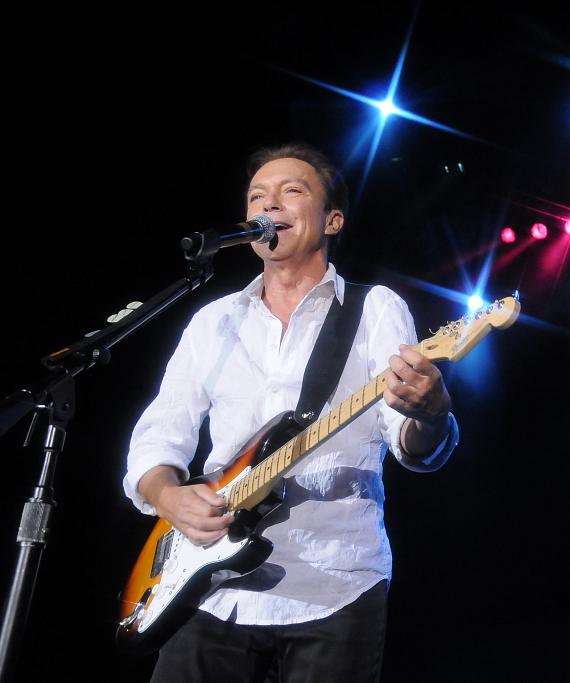 David Cassidy performs at The Orleans Showroom