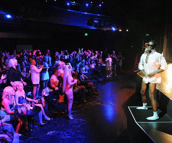 European cast of Chippendales rehearse at The Rio All-Suite Hotel & Casino