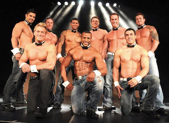 European cast of Chippendales rehearse at The Rio All-Suite Hotel & Casino in Las Vegas