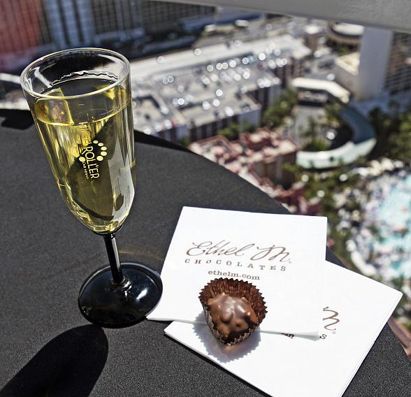 Las Vegas' High Roller to Launch N. America's 1st In-Cabin Chocolate Tastings on Sept. 1