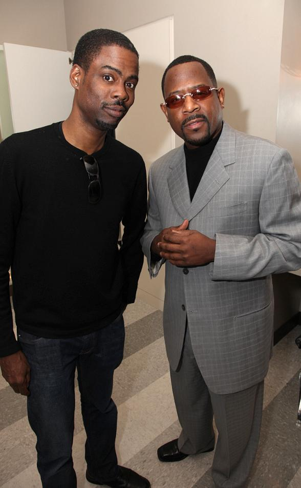 Chris Rock and Martin Lawrence at Palms Casino