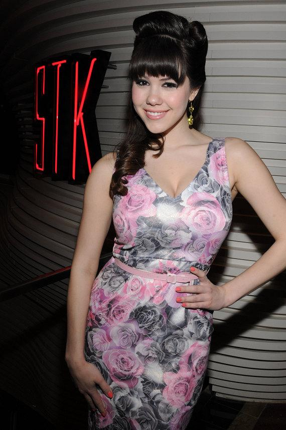 Claire Sinclair at STK in The Cosmopolitan of Las Vegas