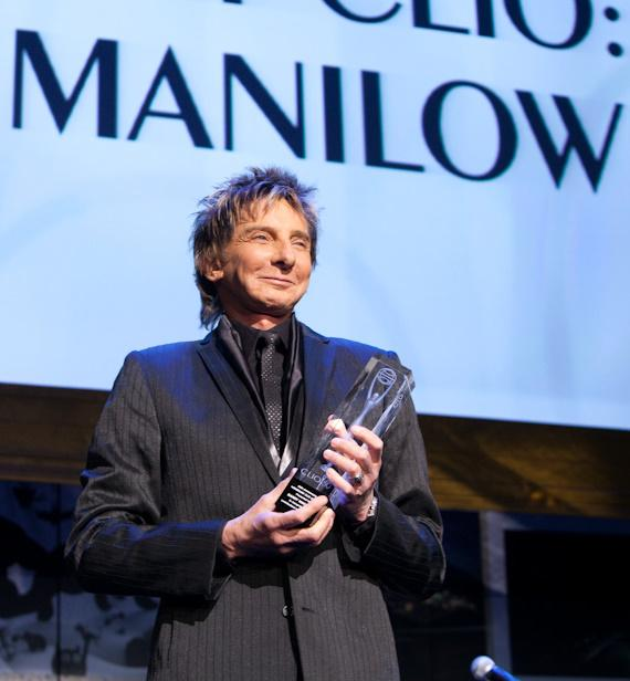 Barry Manilow Honored at 50th Anniversary CLIO Awards