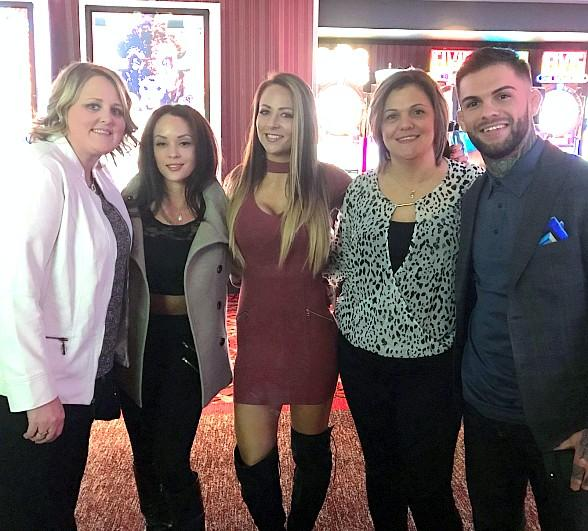 "UFC Champion, Cody ""No Love"" Garbrandt, Treats his Three Favorite Ladies to Andiamo Italian Steakhouse"