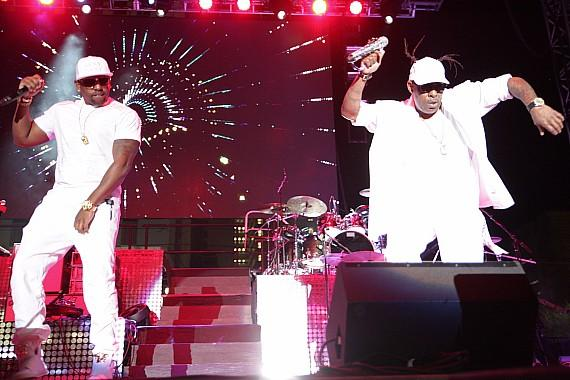 """Coolio performs at Downtown Las Vegas Events Center for """"I Love The 90s"""" concert"""