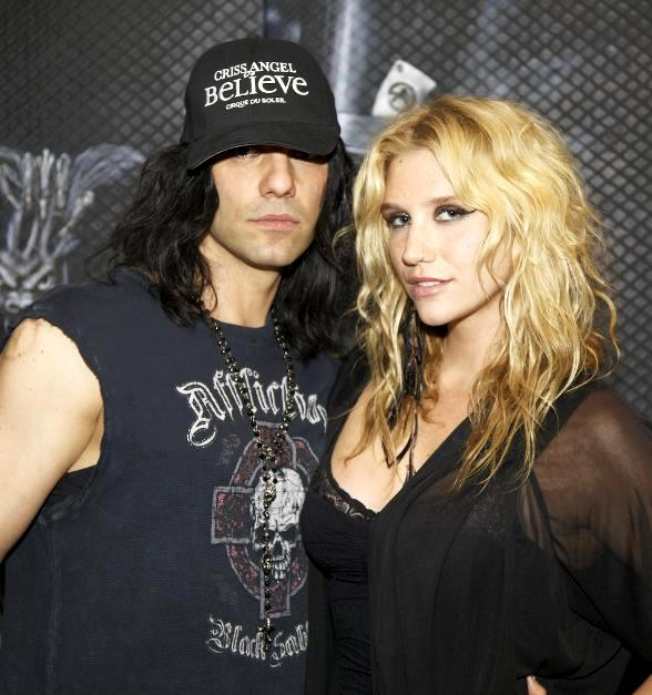 Criss Angel with Ke$ha