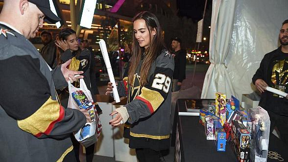 Vegas Golden Knights to Host Toy Drive at December 9 Game Against Dallas Stars