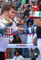 Canelo Alvarez and Gennady 'GGG' Golovkin Hold Los Angeles Media Workout for Historic Rematch on September 15 at T-Mobile Arena in Las Vegas