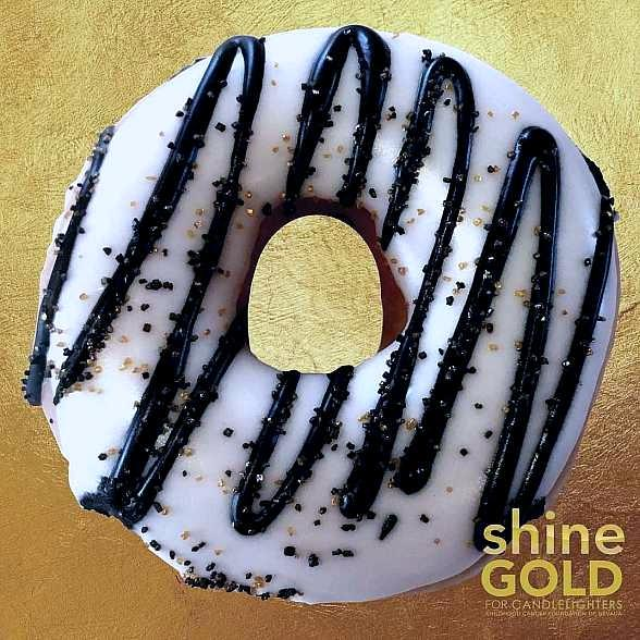 Krispy Kreme Doughnuts Launches Specialty Vegas Golden Knights Doughnut to Raise Money for Candlelighters Childhood Cancer Foundation This September