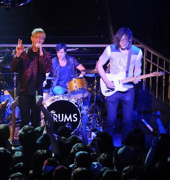 The Drums perform at Body English inside Hard Rock Hotel & Casino