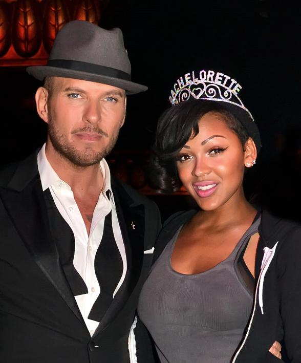 Meagan Good At Matt Goss Show At Caesars Palace