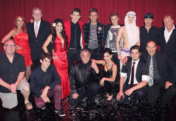 Cast of Variety Live at The Orleans Hotel & Casino