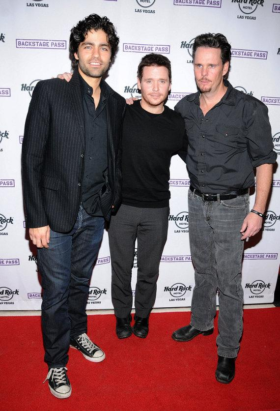 Adrian Grenier, Kevin Connolly and Kevin Dillon