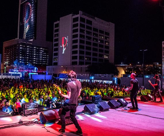 Everclear Performs during Summerland Tour at Downtown Las Vegas Events Center