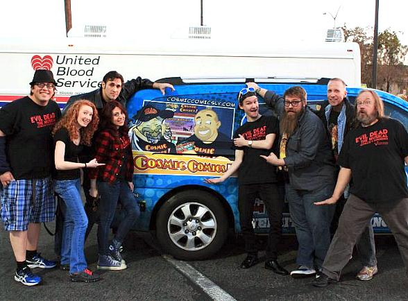 """""""Evil Dead The Musical"""" Helps to Collect Dozens of Units of Blood for United Blood Services"""