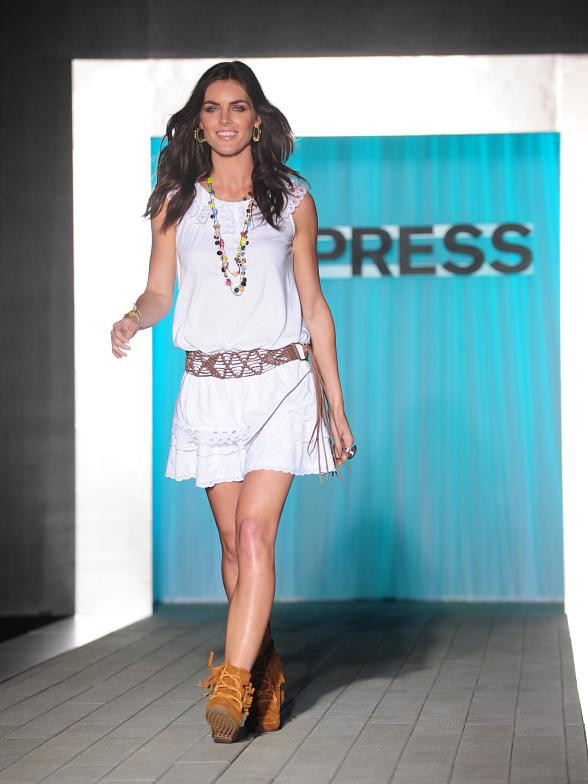 EXPRESS Rocks The Las Vegas Strip, Staging a Public, Outdoor Runway Show at The Venetian March 11