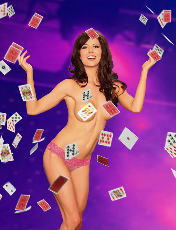 """Taya Parker in """"Centerfolds of Magic"""""""